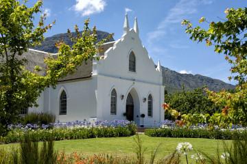 Franschhoek, Kirche, Tagestour, 4 PässeTour