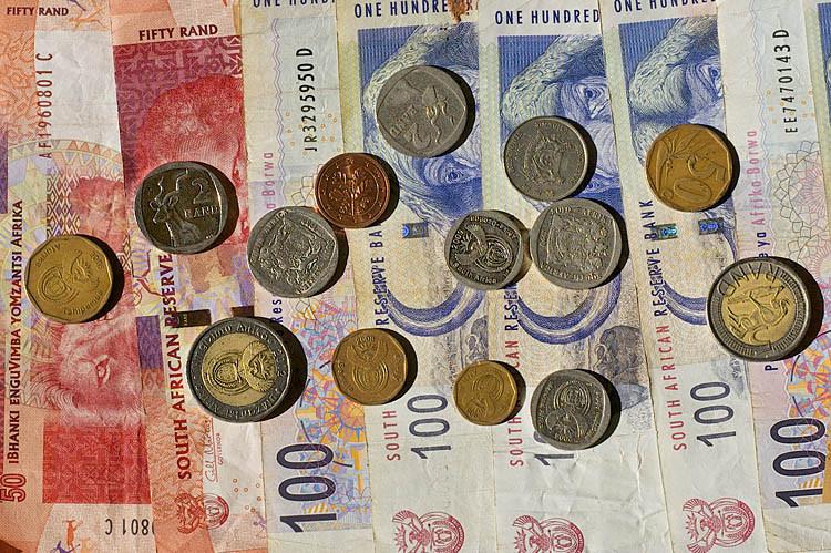 Geld, Währung, Südafrika, Rand, Geldumtausch