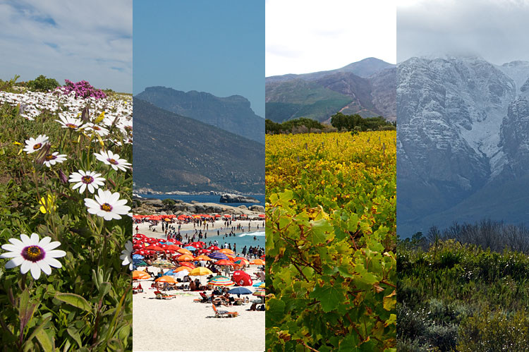Wetter, Western Cape, Jahreszeiten, Reisezeit