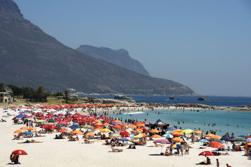 Kapstadt, Camps Bay, Strand, Tagestour Kapstadt