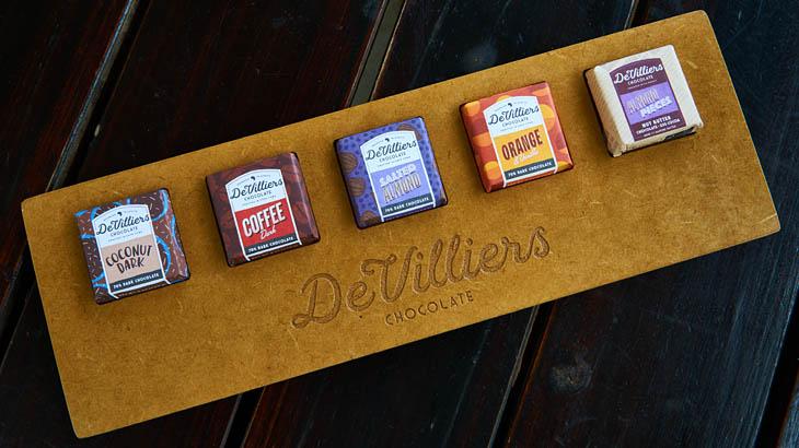 Schokolade, De Villiers, Paarl, Spice Route