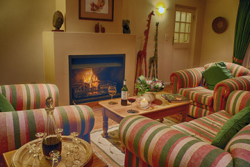 Golden Hill Guest House, Unterkunft, Somerset West, Lounge