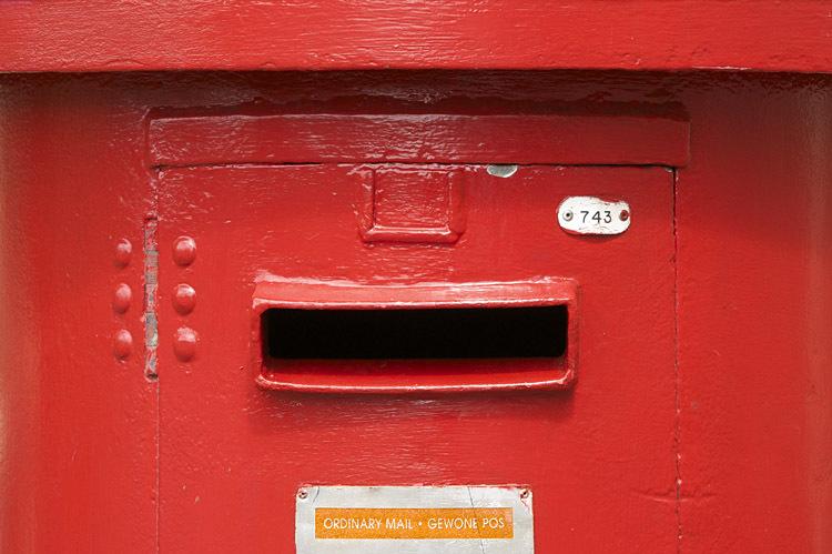 Briefkasten, Kontakt, Golden Hill, Guest House