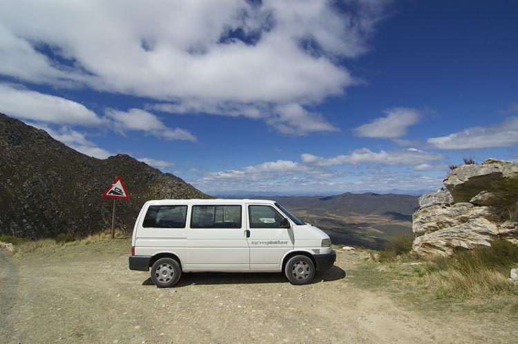 Kleine Karoo, Tourwagen, Golden Hill, Swartberg Pass