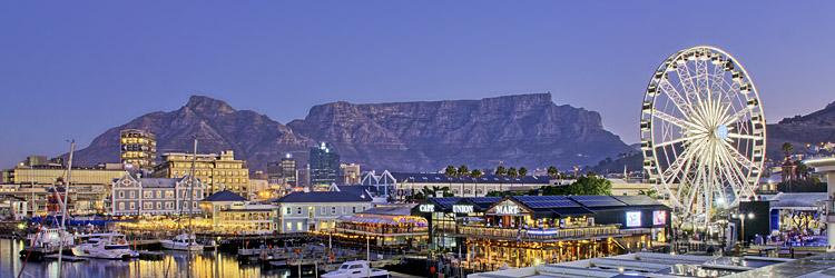 Waterfront, Tafelberg, Kapstadt
